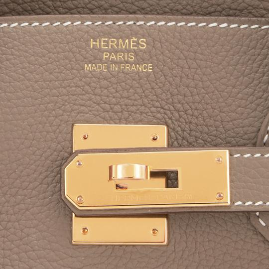 Hermès Birkin 35 Etoupe Birkin Etoupe Birkin 35 Etoupe 35 Taupe Birkin Tote in Trench Image 9