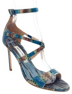 Manolo Blahnik multi Sandals