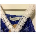 T-Bags Los Angeles short dress Cobalt Blue and White on Tradesy Image 2