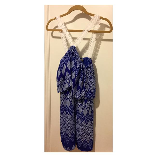 T-Bags Los Angeles short dress Cobalt Blue and White on Tradesy Image 3