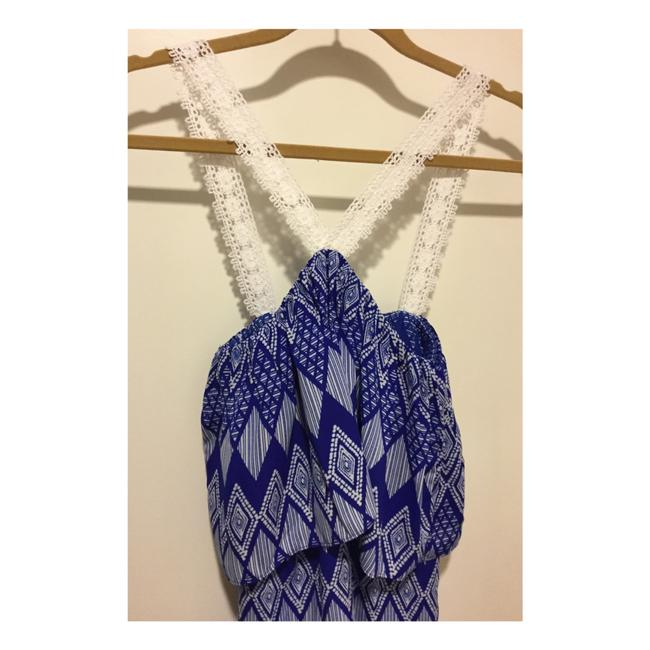 T-Bags Los Angeles short dress Cobalt Blue and White on Tradesy Image 4