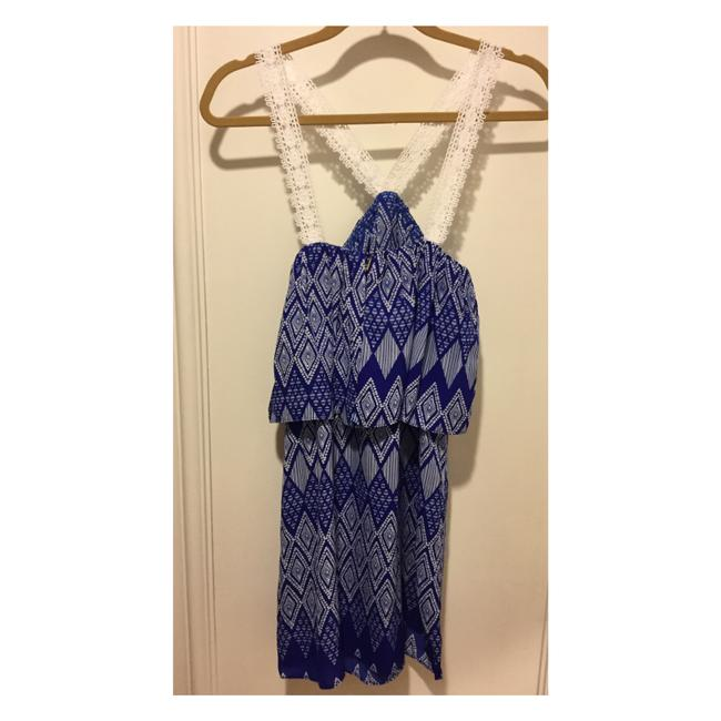 T-Bags Los Angeles short dress Cobalt Blue and White on Tradesy Image 5