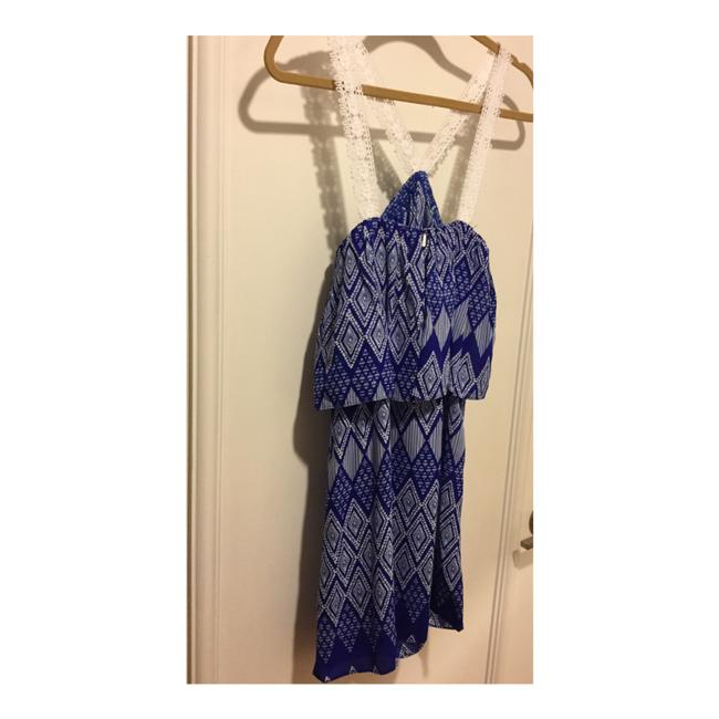 T-Bags Los Angeles short dress Cobalt Blue and White on Tradesy Image 6
