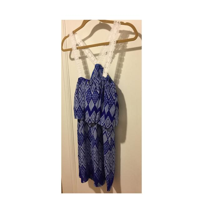 T-Bags Los Angeles short dress Cobalt Blue and White on Tradesy Image 7