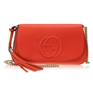 Gucci Disco Gg Tassel Handbag Chain Shoulder Bag