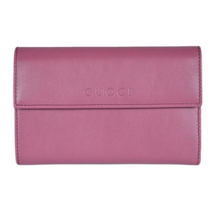 Gucci Gucci Women's Leather French Flap Wallet 346057 5535