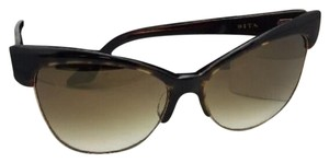 Dita DITA Sunglasses TEMPTATION 22029-B-TRT-GLD-61 Tortoise-Gold w/ Brown