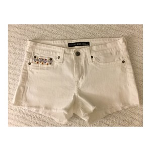 Big Star Cut Off Shorts White