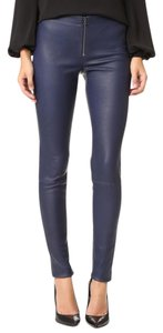 Alice + Olivia J Brand Alexander Wang Iro The Row Helmut Lang Skinny Pants Blue