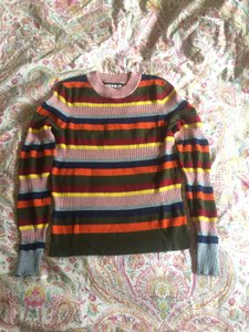House of Holland Colorful Wool-blend Comfortable Sweater