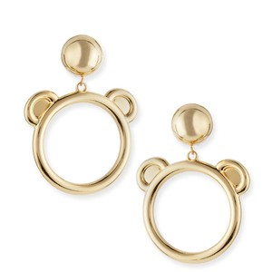 Love Moschino Teddy Bear Loop Earrings