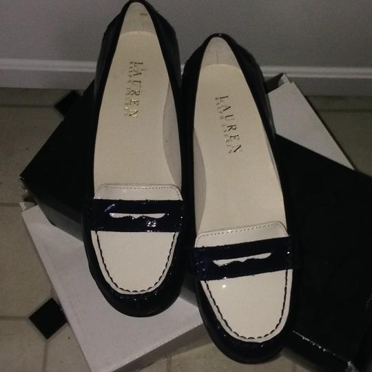 Ralph Lauren blue and white Flats Image 2