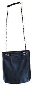 Tory Burch Leather Gold Chain Designer Cross Body Bag