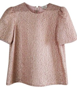 Kate Spade Size 10 Top Pink gold