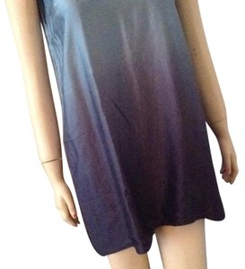 DKNY Top Ombre turquois to navy blue.