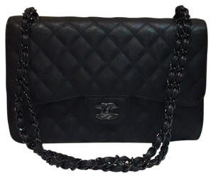 Chanel So Black Flap Le Boy Black Hardware Sold Out Shoulder Bag
