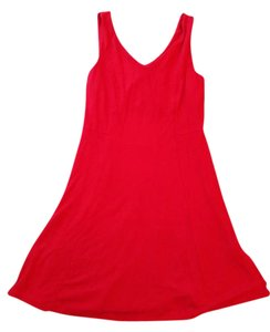 Donna Ricco short dress Red Sleeveless on Tradesy