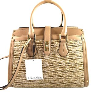 Calvin Klein Satchel in Brown