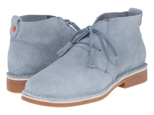 Hush Puppies Suede Rocker Festival Baby Blue Boots