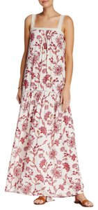 Ivory Combo Maxi Dress by Love Stitch Spring Summer
