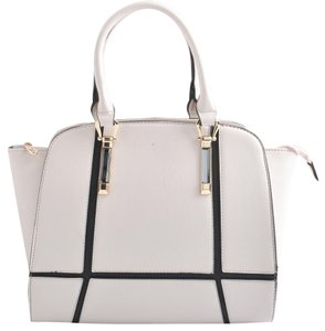 USO Couture With Flower Leather Bagsforwomen Fashionforwomen Tote in White
