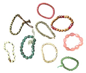 varied designers varied designs set of 9 bracelets