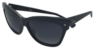 Dior New CHRISTIAN DIOR Sunglasses DIORJUPON2 807HD 55-15 Black w/Grey Lens