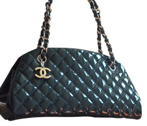 Chanel Satchel in green