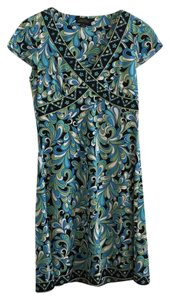Tahari short dress Colorful Summer on Tradesy