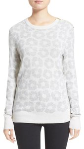 Equipment Silk Cashmere Printed Floral Sweater