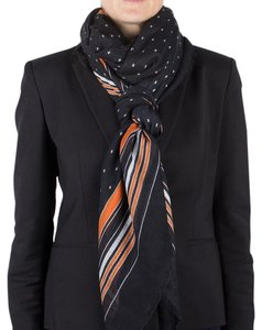 Givenchy Givenchy Women's Striped Cashmere Scarf Large