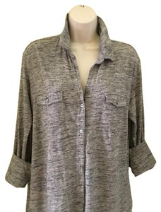 James Perse Top Gray