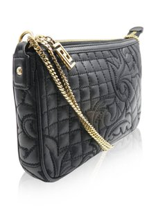 Versace Quilted Leather Cross Body Bag