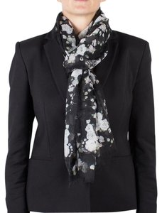 Givenchy Givenchy Women's Floral Pattern Cashmere Scarf Large