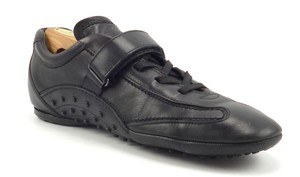 Tod's Men's Shoes Leather Strap & Lace Up Sneakers