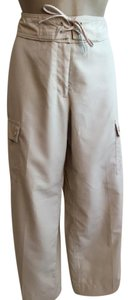 Izod Capri/Cropped Pants Tan