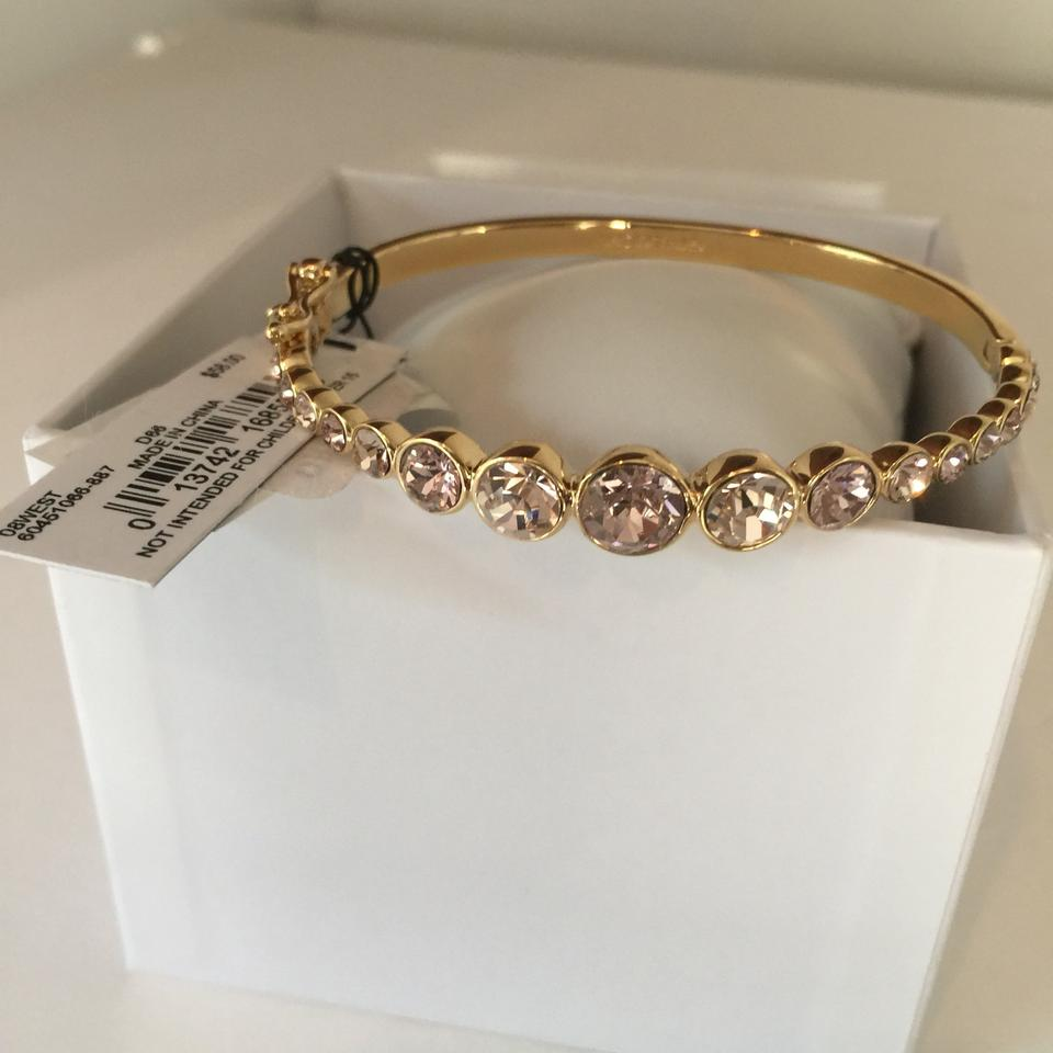 Graduated Crystal Bangle Bracelet 123456