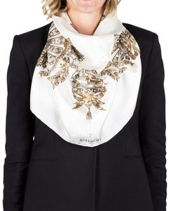 Givenchy Givenchy Women's Jeweled Pattern Silk Scarf