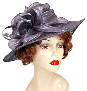 kentucky derby hat Formal Feathered Flower Sinamay Dressy Hat Kentucky Derby Hat, Wedding