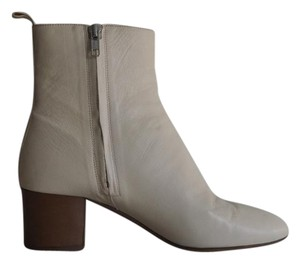 Isabel Marant White Ankle Cream Boots