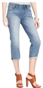 Lucky Brand Capri/Cropped Denim-Medium Wash