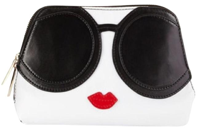 Item - Black White Red Stace Cosmetic Bag