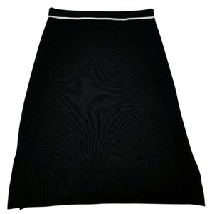 Max Studio Skirt Black White