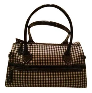 Christian Louboutin Tote in Black and White Checked
