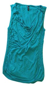 Maurices Fitted Cinched Top Teal