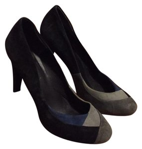 Nine West black grey blue Pumps