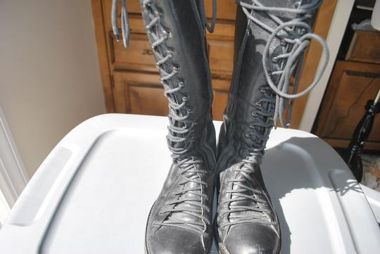 Ann Demeulemeester Lace Up black Boots