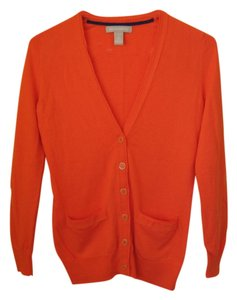 Banana Republic Petite Coral Cardigan Sweater