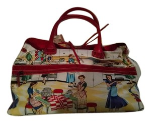 Christian Louboutin Tote in Red and Multi