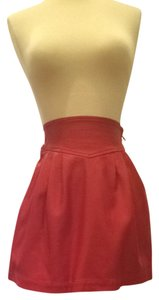 Silence + Noise Skirt Cherry Red